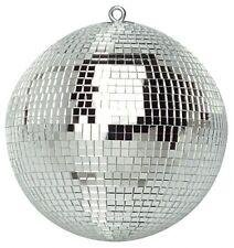 "300mm 12"" Silver Sparkling Disco Light Party Mirror Ball 30cm Mirrorball Glitter"