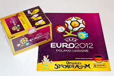 PANINI EM EC EURO 2012 12 – 1 X BOX Display 100 cartocci + ALBUM VUOTO album GERMANY