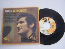 EP 45 T VINYLE , EDDY MITCHELL , BYE BYE PRECHEUR , VG - / VG