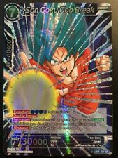 Carte Dragon Ball Super SON GOKU GOD BREAK BT1-031 SR DBZ FR NEUF