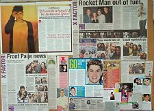 Aiden Grimshaw - clippings/cuttings/articles pack - The X-Factor