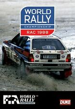 World Rally Championship - RAC 1988 Review (New DVD) FIA WRC Bell Llewellin