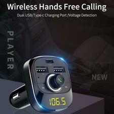 Wireless Bluetooth Car Player FM Transmitter Mobile Phone Charger MP3 Player