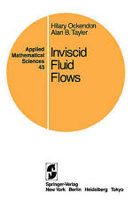 Inviscid Fluid Flows (Applied Mathematical Sciences)-ExLibrary