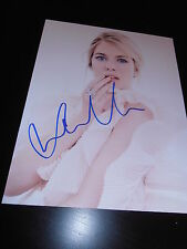 SIENNA MILLER SIGNED AUTOGRAPH 8X10 PHOTO SEXY BABE PHOTO SHOOT GQ IN PERSON E