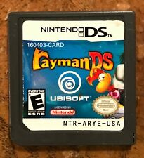 Rayman DS Nintendo DS/DSi Game (cleaned, polished!)