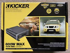 Kicker Cxa400.1 400W mono amp - New in box