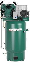 CHAMPION AIR COMPRESSOR VRV10-12, 10 HP, 120 GAL THREE PHASE 460 VOLT