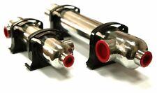 SCAMBIATORE di calore NORDIC TEC acciaio INOX piscina&spa 16-704kW +Fissaggio