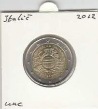 Italië 2 euro 2012 UNC : 10 Jaar euro Munt