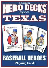 Hero Decks Texas Rangers Caricatures Playing Cards Deck Ryan Ivan Rodriguez Etc
