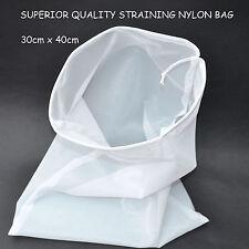 'NEW'GARDEN POND FILTER SOCK-NYLON MICRON MESH NET BAG-SHORT VERSION-30cm x 40cm