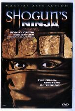 SHOGUN'S NINJA - THE NINJA, MASTERS OF TERROR -  1983 MARTIAL ARTS ACTION DVD
