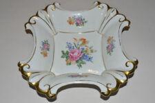 Thüringer Porzellan-Schalen mit Goldranden mehrarmige