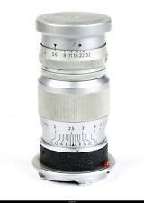 Lens Elmar  4/9cm 90mm Chrom  No.1355390 for Leica M