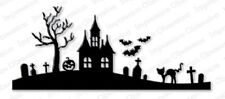 HALLOWEEN HILL DIE-Impression Obsession/IO Stamps (DIE029-P)-Sizzix/Cuttlebug