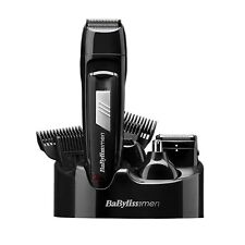 BaByliss Men 8 in 1 Grooming Kit Cordless Body Hair Clipper Beard Trimmer 7056cu