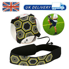 Soccer Football Kick Throw Trainer Solo Practice Training Aid Control Skills UK