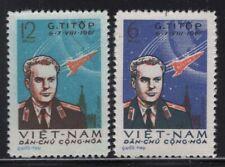 Viet Nam 1961 Cosmonaut Gherman Titov set Sc# 174-75 mint