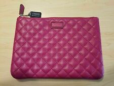 COACH Park Quilted Leather Tech Pouch iPad Tablet Case F66429 Magenta