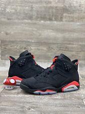 Nike Air Jordan 6 Retro VI Black Infrared Red Metallic Silver OG 384664-023 11