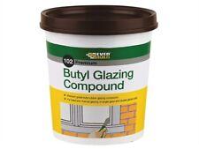 Everbuild Butyl Glazing Compound Putty Window Frames Double Glazing BROWN - 2kg