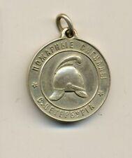 Antique Original Imperial Russian Fire signal badge medal order  (#1506e)