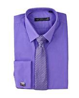 Boys Long Sleeve Formal Shirt and Tie, Boys Smart Suit Wedding Shirts