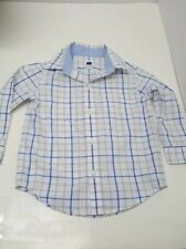 Janie and Jack Plaid Poplin Shirt Size 18-24M