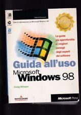 GUIDA computer pc Microsoft USO WINDOWS 98 Craig Stinson con cd-rom