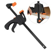 Plastic 4 inch Board clip Vise Quick Grip Release F Woodworking Bar Clamp Tools