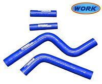 Aluminum alloy Radiator For Yamaha YZ125 2005-2018 2006 2007 silicone blue hose