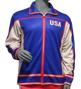 USA Hockey Miracle on Ice 1980 Authentic Warm Up Jacket