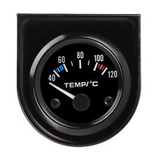 "Water Temp Temperature Gauge Kit 2"" Inch 52mm Round LED 40-120℃ Car Auto Truck"