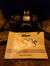 nikon n90s camera 2 lens outdoor and indoor flash and bag