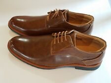 e657c47c9f8 Henry Ferrera Men s Lace- Up Loafers Shoes - Brown - Size  8.5 - NEW