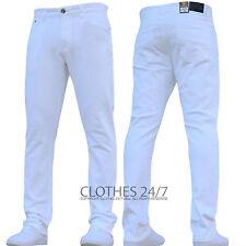BNWT Nuevo Para hombres Calce Ajustado Elástico Pantalones Chinos Jeans Pantalones Pantalones de trabajo todos los tamaños de la cintura