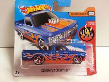 "Coche Mattel Hot Wheels DTX88 ""HW FLAMES"" - Custom '72 Chevy Luv 1/64"