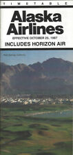 Alaska Airlines system timetable 10/25/87 [0111] Buy 4+ save 25%
