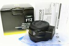 Nikon FTZ Mount Adapter f/ Nikon Z7/Z6/Z50 Digital Camera w/F Mt Lens New In Box