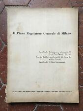 Il Piano Regolatore Generale di Milano L'attuazione del P.R.G. dal 1953 al 1956
