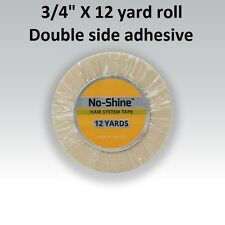 No Shine Lace Support Tape 3/4 in X 12 yard Full Head Bond NEW LABEL