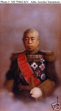 Admiral Isokoru Yamamoto Imperial Japanese Navy 1943 World War 2 6x4 Inch Photo