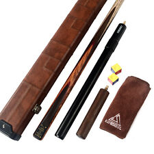 "Cuesoul 1-PIECE Handmade Snooker Cue 18 oz 57""  and AL telescopic Extension&CASE"