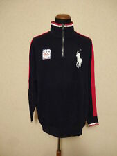 Polo Ralph Lauren Felpa - XL T Olympics Zip Sweater Vancouver 2010 (Flag/Patch)