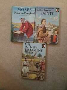 Ladybird Books. Bible Stories. Vintage. Great Condition x 3