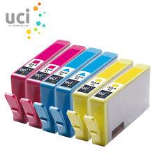6x CMY INK UCI Brand fits for HP 364XL Deskjet 3070A 3522 3524 Officejet 4620