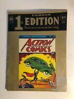 Vintage Action Comics #1 Reprint DC Superman Golden Mint Series See pics!