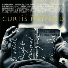 CD Sampler A Tribute To Curtis Mayfield (Eric Clapton, Aretha Franklin) 1993