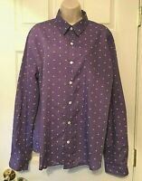 SPOP Women's Blouse Plus XXL Long Sleeve Button Down Shirt